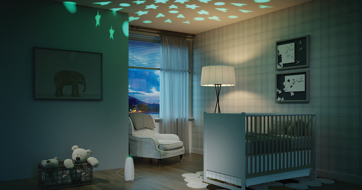 Airfree babyair for the babys room