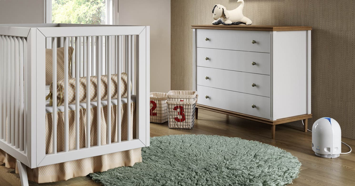 Airfree P for the Baby room