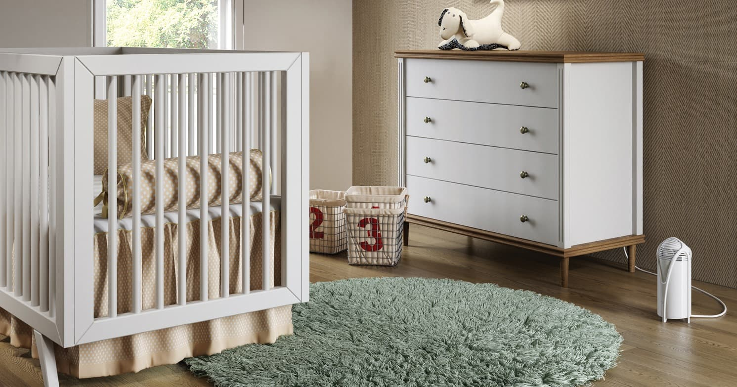 Airfree T for the babyroom
