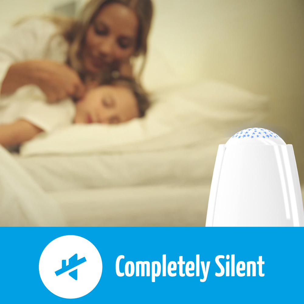airfree babyair is completely silent