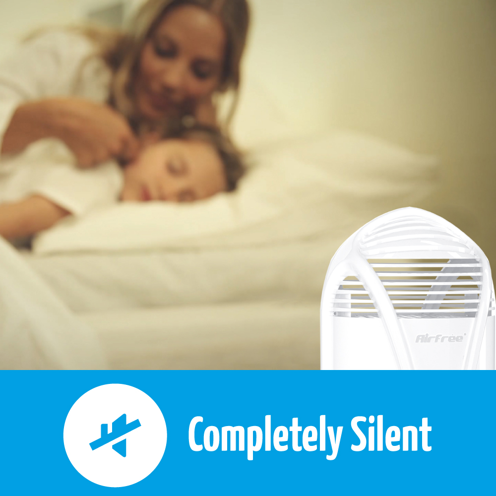 airfree t is completely silent